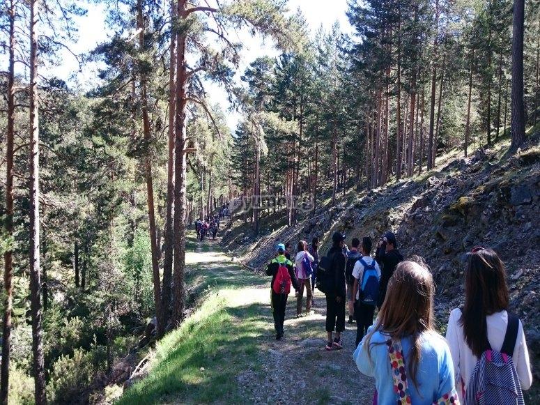 Trekking for schools