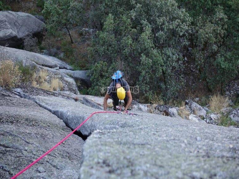 Ven a escalar con nosotros