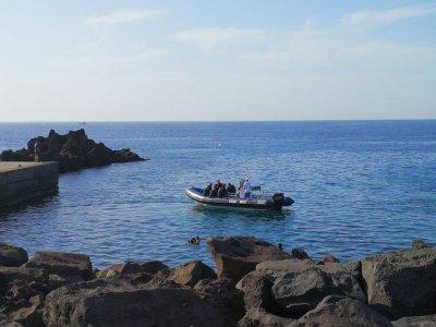 Immersioni subacquee a Lanzarote dalla barca