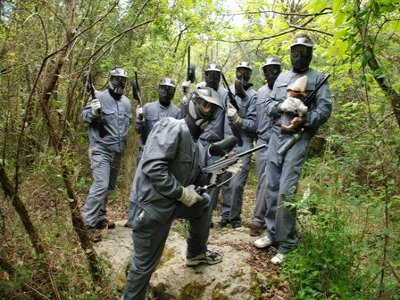 Paintball Voto Team Building