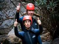 Canyoning in group