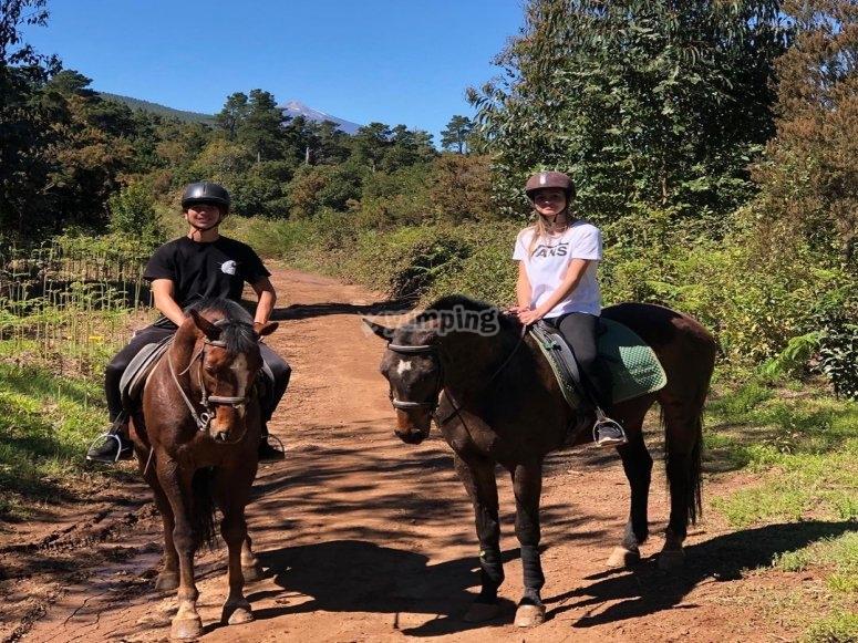 Paseo a caballo por La Esperanza