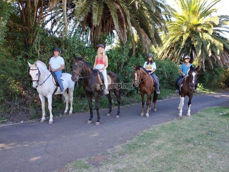 Ruta a caballo La Esperanza