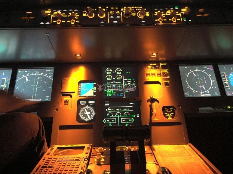 Ponte a los mandos de un A320
