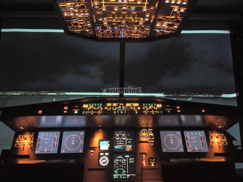 Simulador de A320