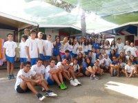 Grupo campamento de inglés