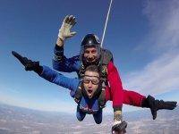 Skydiving jump at Granada tandem