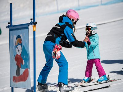 Clases esquí en grupo para niños Grandvalira 15h