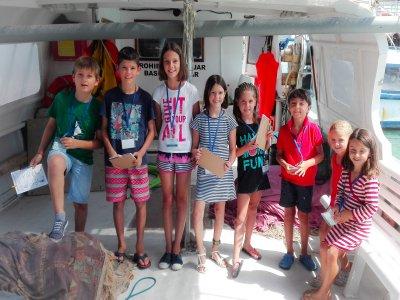 Escuela marinera para niños temp media Peñíscola