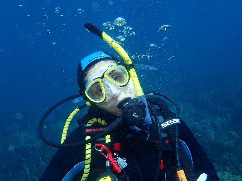 Diving session in Alicante
