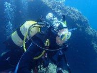 Inmersión de buceo en Muchamiel para titulados