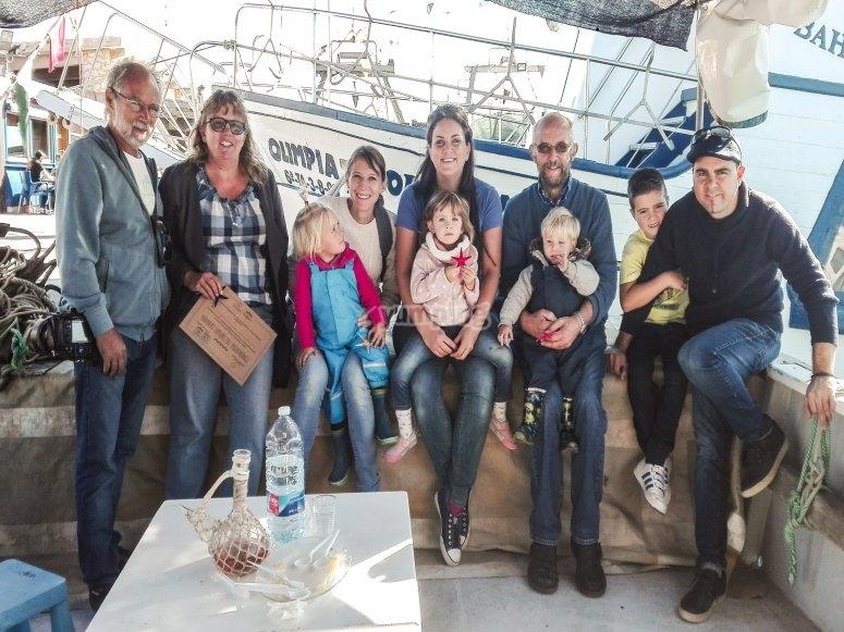 Familia en experiencia marinera en Peñíscola