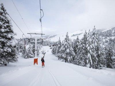 通过滑雪通行证12至17年Grandvalira 5天