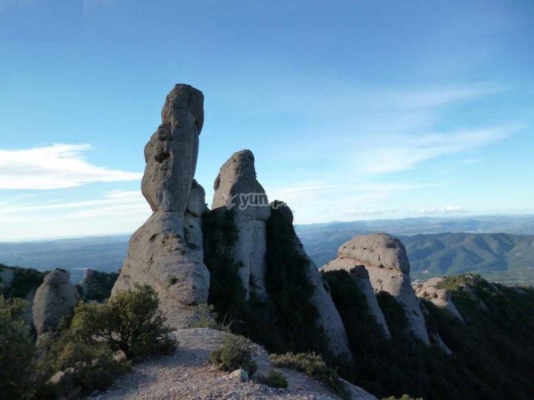 Excursion por Montserrat