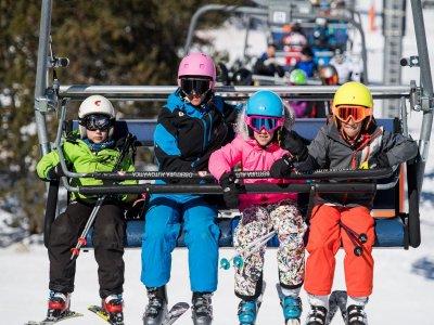 Grandvalira 4天内6-11岁儿童滑雪通行证