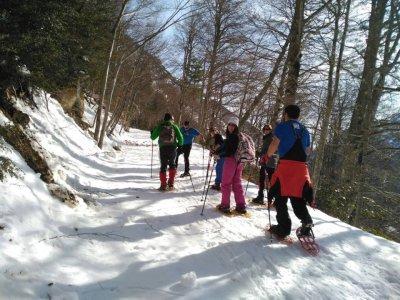 Raquetas de nieve en Valle de Pineta media jornada