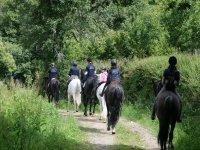 Excursiones a caballo para amigos