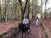 Descubre la terra galega a caballo