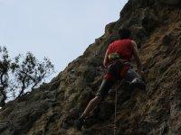Escalada en Peñaguda nivel bajo-medio en Estella