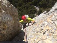在Etxauri中低水平的攀登日