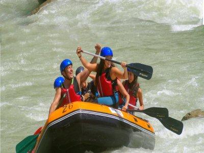 Recorrido en Canoa-Rafting río Gállego