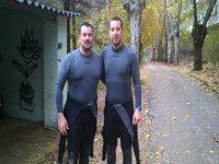 Antes de practicar rafting