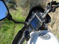 Orientación, moto Trail