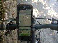 Orientación, GPS en BTT