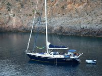Sailing on the Murcian coast