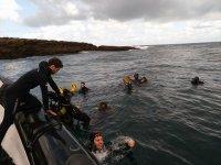 Inmersión buceo en Hondarribia+alquiler equipo