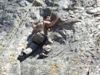 Climbing without hands