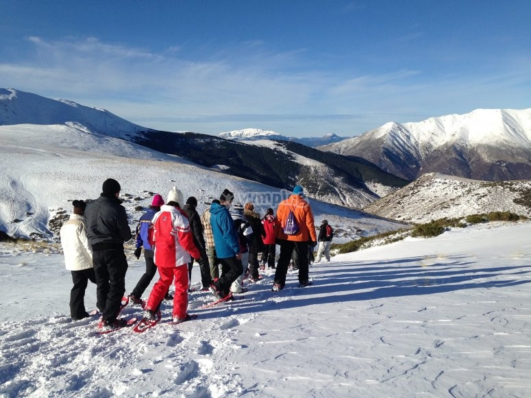 Vall deBoí的雪鞋