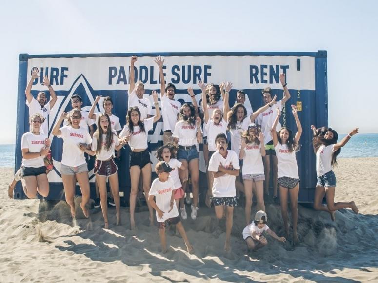 Foto de campamento de surf