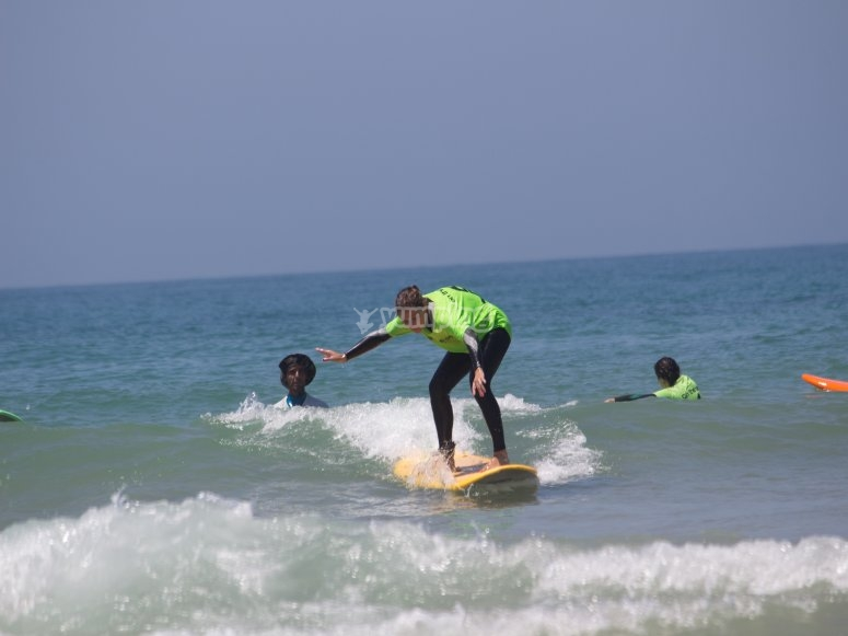 Sesión Surf