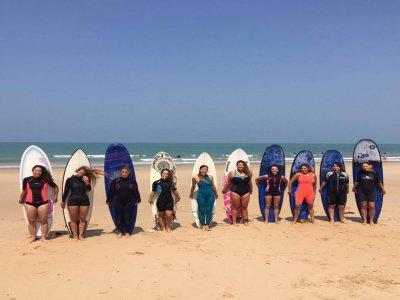 Retiro de yoga y surf en Chiclana 7 días 6 noches