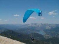 串联滑翔伞自由飞滑翔伞的课程