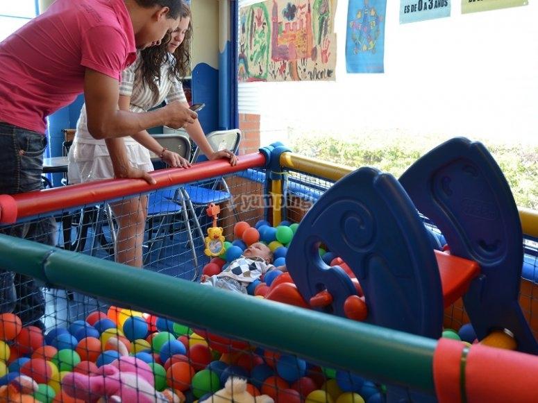 Parque infantil en Leganes