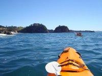 Kayaking via mare