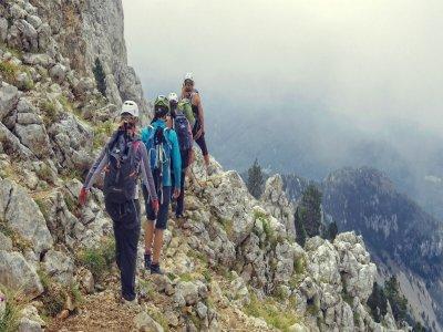 每天上升到Pedraforca的顶端