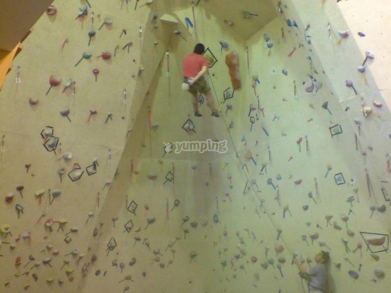 Climbing activity for children