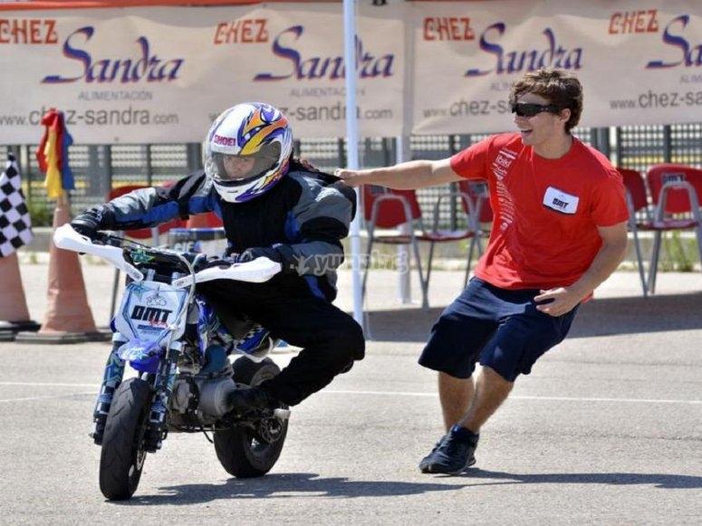 微型越野摩托车课程