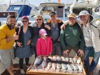 Una salida de pesca en familia