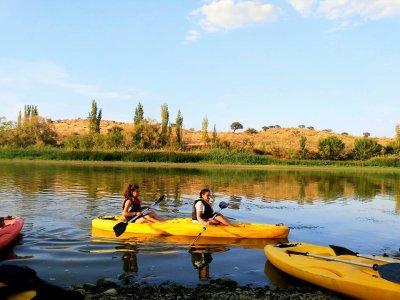 Matachel河上的航海活动日