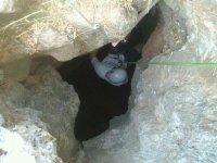 在Lérena的Sierra de San Miguel洞穴探险