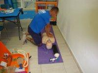 Prácticas de primeros auxilios