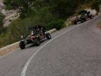 Buggy in the bend