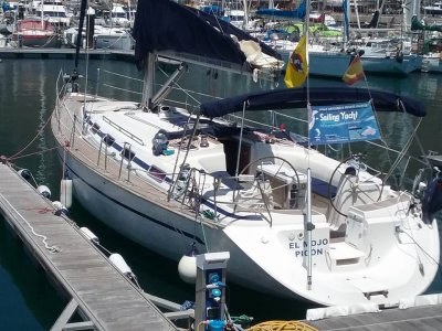 Alquiler de velero con patrón los Gigantes 4 horas