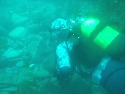 Viveiro的开放水域潜水员潜水课程