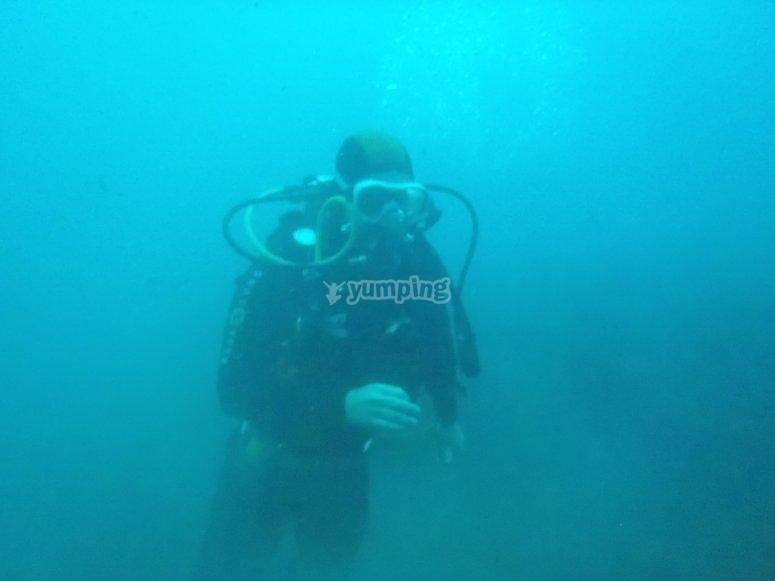 在比韦罗PADI潜水