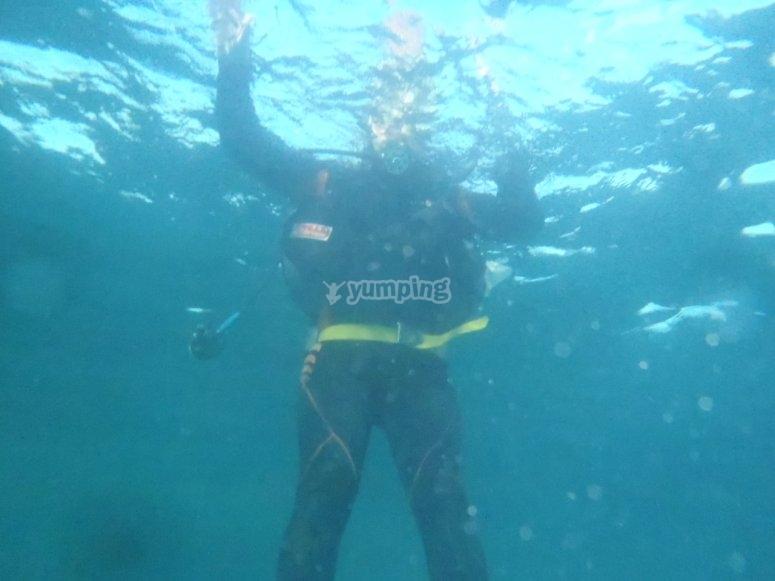 Esperienza di immersione per coppie